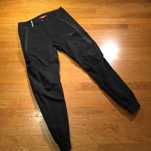 Nike Black track pants joggers